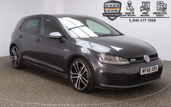 Used 2016 GREY VOLKSWAGEN GOLF Hatchback 2.0 GTD DSG 5DR 1 OWNER AUTO 182 BHP (reg. 2016-09-30) for sale in Stockport
