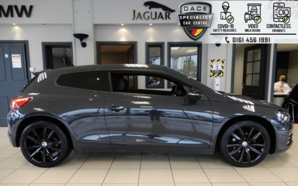 Used 2016 GREY VOLKSWAGEN SCIROCCO Coupe 2.0 GT BLACK EDITION TDI BMT 2d 150 BHP (reg. 2016-07-25) for sale in Hazel Grove