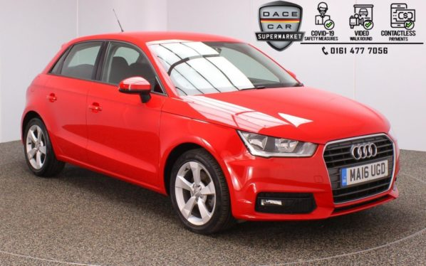 Used 2016 RED AUDI A1 Hatchback 1.6 SPORTBACK TDI SPORT 5DR 1 OWNER 114 BHP (reg. 2016-04-08) for sale in Stockport