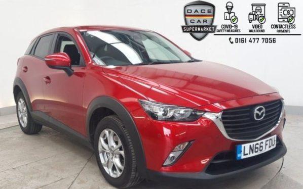 Used 2016 RED MAZDA CX-3 Hatchback 1.5 D SE-L NAV 5DR 1 OWNER 104 BHP (reg. 2016-09-01) for sale in Stockport
