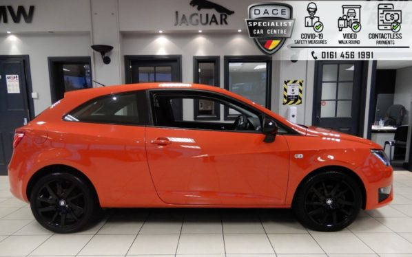 Used 2016 RED SEAT IBIZA Hatchback 1.0 ECOTSI FR TECHNOLOGY DSG 3d AUTO 109 BHP (reg. 2016-09-01) for sale in Hazel Grove