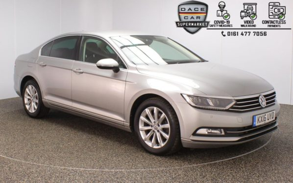 Used 2016 SILVER VOLKSWAGEN PASSAT Saloon 1.6 SE BUSINESS TDI BLUEMOTION TECH DSG 4DR 1 OWNER AUTO 119 BHP (reg. 2016-03-22) for sale in Stockport