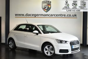 Used 2016 WHITE AUDI A1 Hatchback 1.0 SPORTBACK TFSI SE 5DR AUTO 93 BHP (reg. 2016-08-17) for sale in Bolton