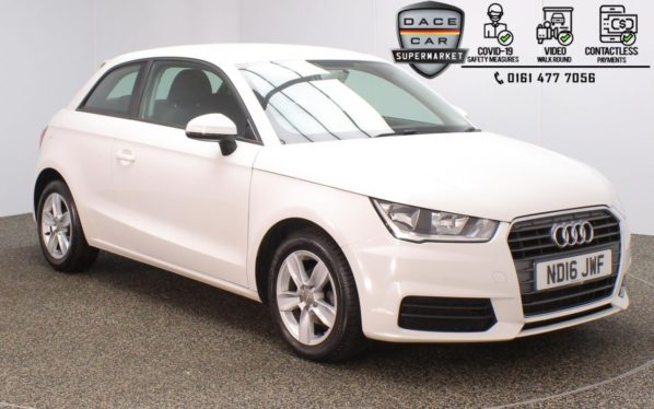 Used 2016 WHITE AUDI A1 Hatchback 1.0 TFSI SE 3DR 93 BHP (reg. 2016-07-04) for sale in Stockport