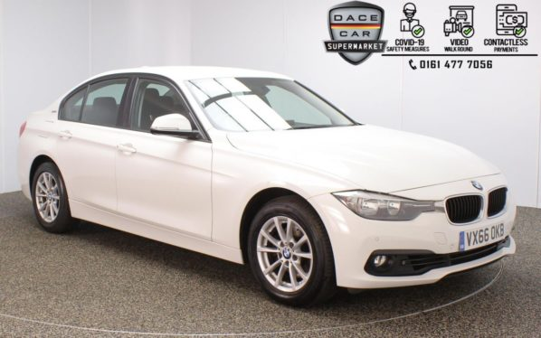 Used 2016 WHITE BMW 3 SERIES Saloon 2.0 330E SE 4DR 1 OWNER AUTO 181 BHP (reg. 2016-09-01) for sale in Stockport