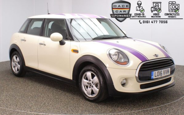 Used 2016 WHITE MINI HATCH COOPER Hatchback 1.5 COOPER D 5d 114 BHP (reg. 2016-08-10) for sale in Stockport