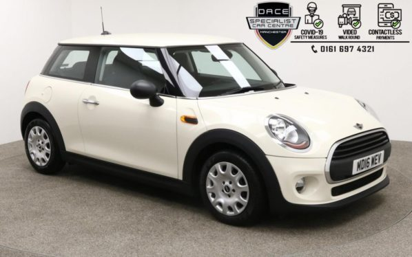 Used 2016 WHITE MINI HATCH ONE Hatchback 1.2 ONE 3d 101 BHP (reg. 2016-07-31) for sale in Manchester