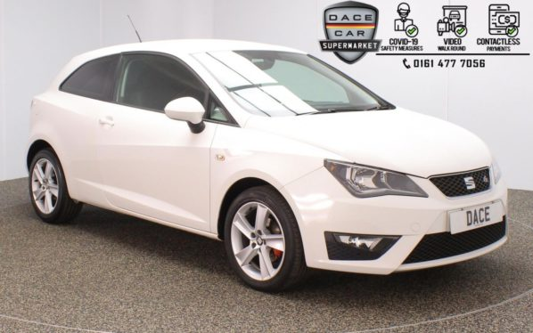 Used 2016 WHITE SEAT IBIZA Hatchback 1.2 TSI FR TECHNOLOGY 3DR 89 BHP (reg. 2016-11-30) for sale in Stockport