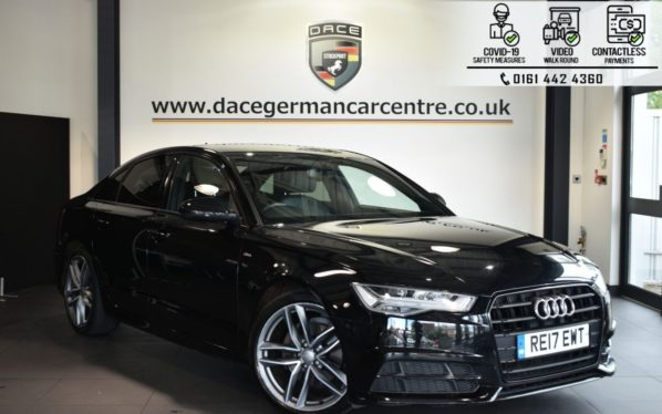 Used 2017 BLACK AUDI A6 Saloon 2.0 TDI ULTRA BLACK EDITION 4DR AUTO 188 BHP (reg. 2017-05-16) for sale in Bolton