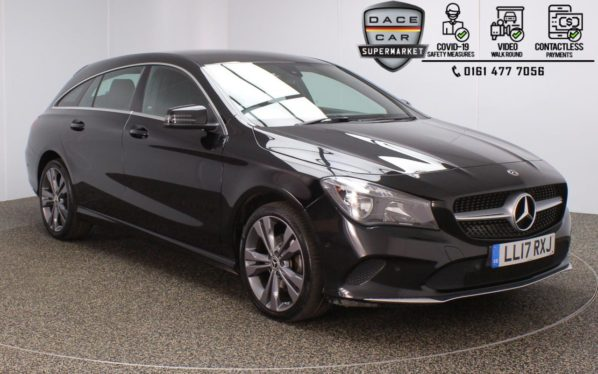 Used 2017 BLACK MERCEDES-BENZ CLA Estate 2.1 CLA 220 D SPORT 5DR 1 OWNER AUTO 174 BHP (reg. 2017-05-12) for sale in Stockport