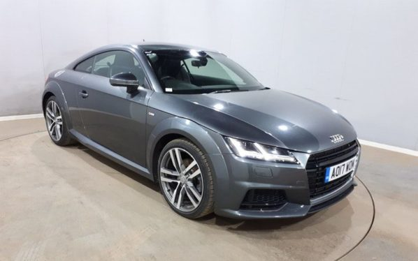 Used 2017 GREY AUDI TT Coupe 2.0 TFSI S LINE 2d AUTO 227 BHP (reg. 2017-05-16) for sale in Manchester