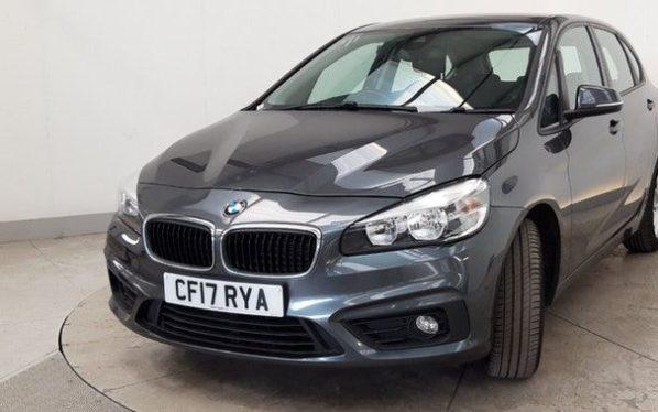 Used 2017 GREY BMW 2 SERIES ACTIVE TOURER Hatchback 1.5 216D SE ACTIVE TOURER 5d 114 BHP (reg. 2017-06-30) for sale in Manchester
