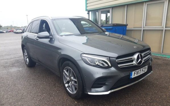 Used 2017 GREY MERCEDES-BENZ GLC-CLASS Estate 2.1 GLC 220 D 4MATIC AMG LINE PREMIUM PLUS 5d AUTO 168 BHP (reg. 2017-07-10) for sale in Manchester
