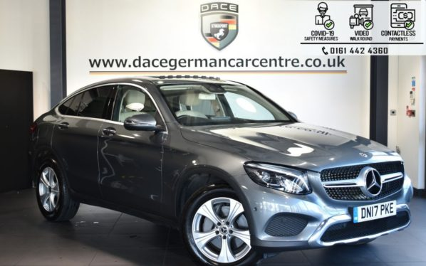 Used 2017 GREY MERCEDES-BENZ GLC-CLASS Coupe 2.1 GLC 220 D 4MATIC SPORT PREMIUM PLUS 4DR AUTO 168 BHP (reg. 2017-07-21) for sale in Bolton