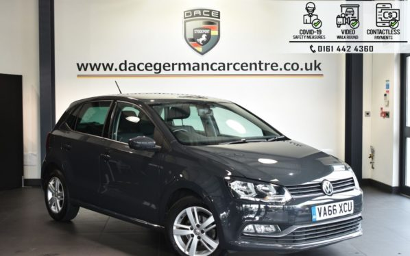 Used 2017 GREY VOLKSWAGEN POLO Hatchback 1.2 MATCH EDITION TSI 5DR 89 BHP (reg. 2017-02-06) for sale in Bolton
