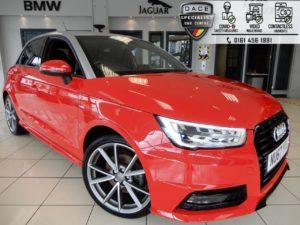 Used 2017 RED AUDI A1 Hatchback 1.6 SPORTBACK TDI BLACK EDITION NAV 5d 114 BHP (reg. 2017-12-21) for sale in Hazel Grove