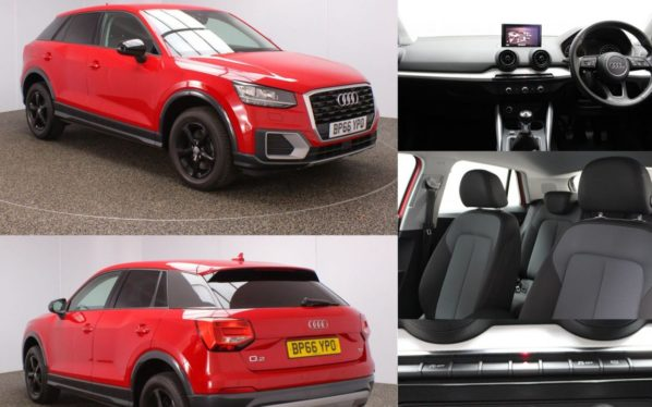 Used 2017 RED AUDI Q2 Estate 1.6 TDI SE 5DR 1 OWNER 114 BHP (reg. 2017-01-31) for sale in Stockport