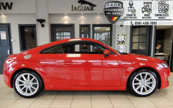 Used 2017 RED AUDI TT Coupe 2.0 TFSI QUATTRO SPORT 2d AUTO 227 BHP (reg. 2017-02-17) for sale in Hazel Grove