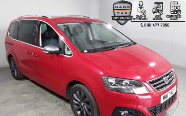 Used 2017 RED SEAT ALHAMBRA MPV 2.0 TDI ECOMOTIVE CONNECT 5DR 1 OWNER 150 BHP (reg. 2017-05-31) for sale in Stockport