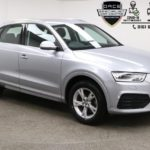 Used 2017 SILVER AUDI Q3 Estate 1.4 TFSI SPORT 5d 148 BHP (reg. 2017-06-23) for sale in Manchester
