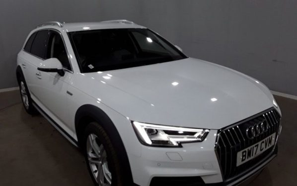 Used 2017 WHITE AUDI A4 ALLROAD Estate 3.0 ALLROAD TDI QUATTRO SPORT 5d AUTO 215 BHP (reg. 2017-06-29) for sale in Manchester