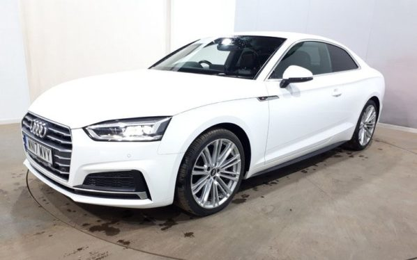 Used 2017 WHITE AUDI A5 Coupe 2.0 TDI S LINE 2d AUTO 188 BHP (reg. 2017-05-19) for sale in Manchester