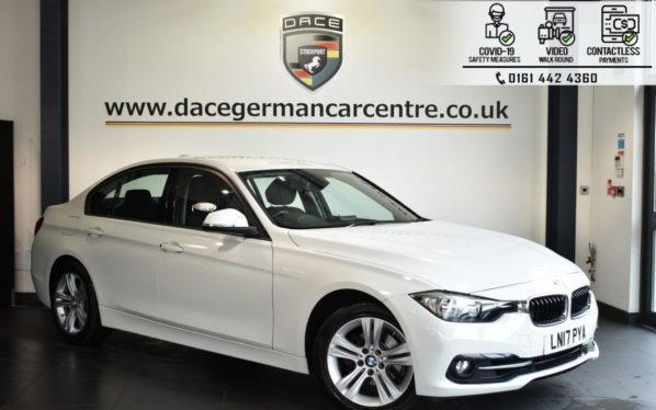 Used 2017 WHITE BMW 3 SERIES Saloon 2.0 320I SPORT 4DR AUTO 181 BHP (reg. 2017-03-29) for sale in Bolton