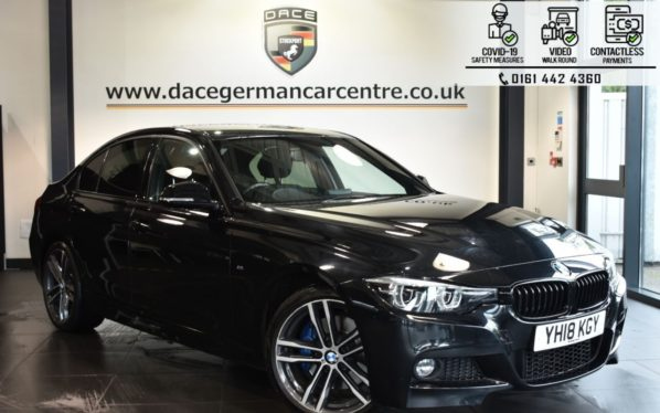Used 2018 BLACK BMW 3 SERIES Saloon 2.0 320I M SPORT SHADOW EDITION 4DR AUTO 181 BHP (reg. 2018-03-29) for sale in Bolton