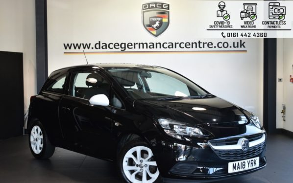 Used 2018 BLACK VAUXHALL CORSA Hatchback 1.4 STING 3DR 74 BHP (reg. 2018-03-30) for sale in Bolton