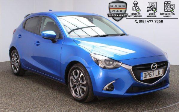 Used 2018 BLUE MAZDA 2 Hatchback 1.5 GT SPORT 5DR 1 OWNER 113 BHP (reg. 2018-01-19) for sale in Stockport