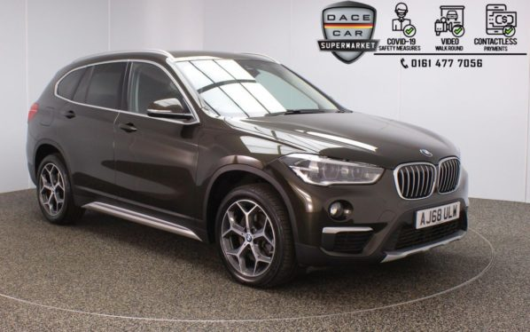 Used 2018 BRONZE BMW X1 Estate 2.0 SDRIVE20I XLINE 5DR 1 OWNER AUTO 190 BHP (reg. 2018-12-17) for sale in Stockport