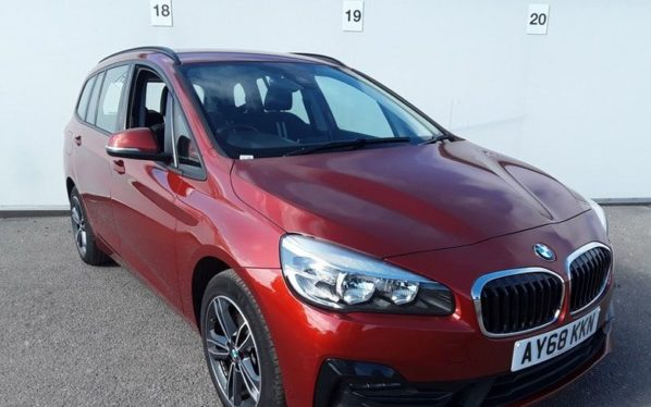 Used 2018 ORANGE BMW 2 Series GRAN TOURER Estate 2.0 220I SPORT GRAN TOURER 5d AUTO 190 BHP (reg. 2018-11-16) for sale in Manchester