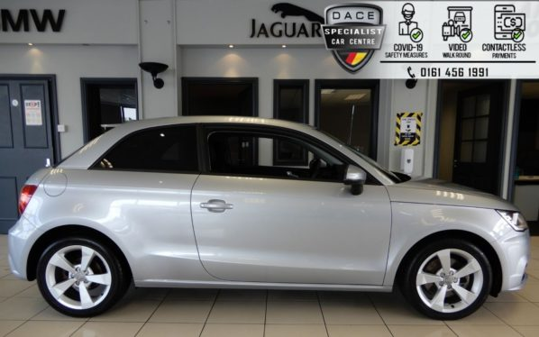 Used 2018 SILVER AUDI A1 Hatchback 1.6 TDI SPORT NAV 3d 114 BHP (reg. 2018-07-19) for sale in Hazel Grove