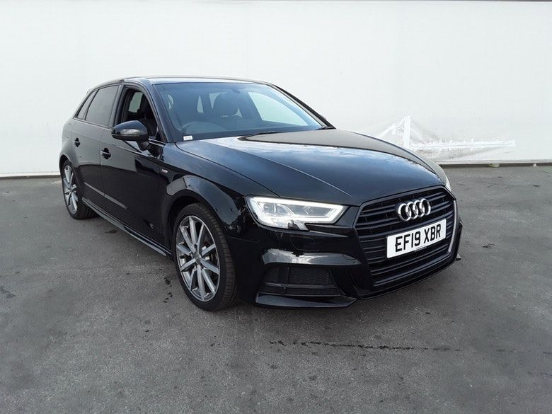 Used 2019 BLACK AUDI A3 Hatchback 1.0 SPORTBACK TFSI BLACK EDITION 5d 114 BHP (reg. 2019-05-21) for sale in Manchester