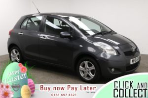 Used 2010 GREY TOYOTA YARIS Hatchback 1.3 TR VVT-I 5d 99 BHP (reg. 2010-03-02) for sale in Manchester