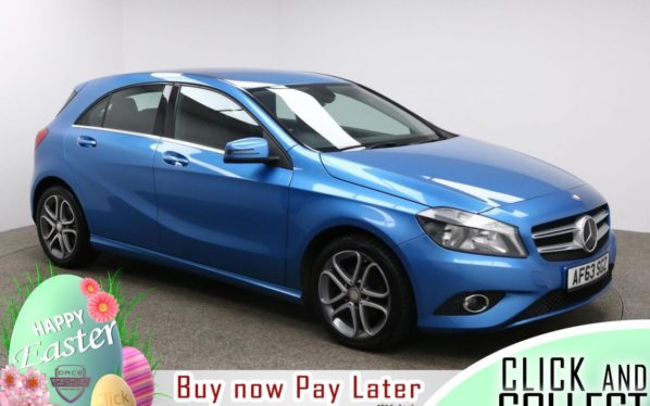 Used 2013 BLUE MERCEDES-BENZ A-CLASS Hatchback 1.5 A180 CDI BLUEEFFICIENCY SPORT 5d 109 BHP (reg. 2013-11-11) for sale in Manchester