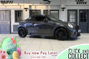 Used 2013 GREY MINI COUPE Coupe 1.6 COOPER 2d 120 BHP (reg. 2013-09-26) for sale in Hazel Grove