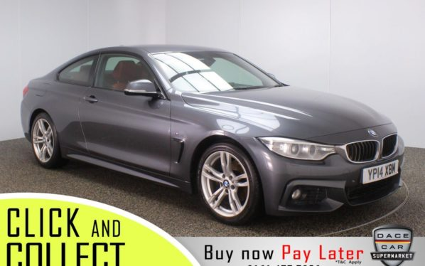 Used 2014 GREY BMW 4 SERIES Coupe 2.0 420D M SPORT 2DR 181 BHP (reg. 2014-05-20) for sale in Stockport