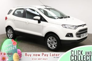 Used 2015 WHITE FORD ECOSPORT Hatchback 1.5 ZETEC 5d 110 BHP (reg. 2015-12-31) for sale in Manchester