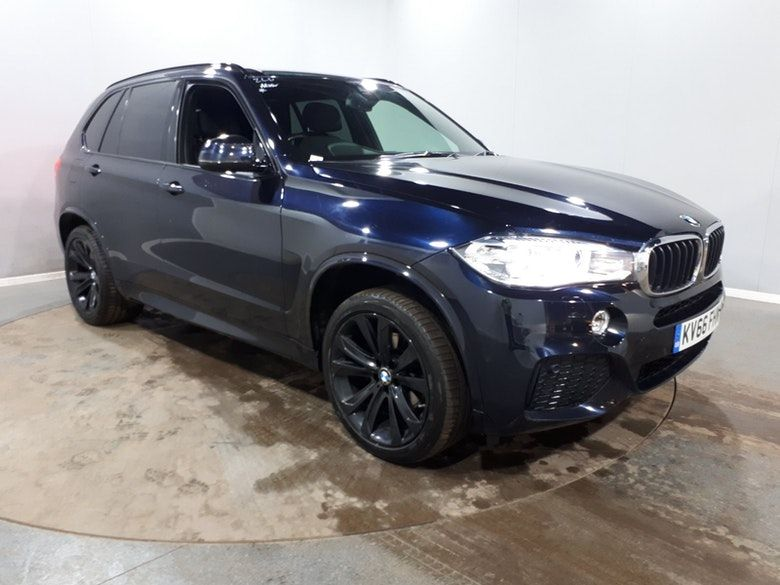 Used 2016 BLACK BMW X5 Estate 3.0 XDRIVE30D M SPORT 5d AUTO 255 BHP (reg. 2016-09-09) for sale in Manchester