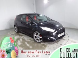 Used 2016 BLACK FORD FIESTA Hatchback 1.6 ST-3 3d 180 BHP (reg. 2016-03-31) for sale in Hazel Grove