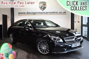 Used 2016 BLACK MERCEDES-BENZ CLS CLASS Coupe 3.0 CLS350 D AMG LINE 4DR AUTO 255 BHP (reg. 2016-11-30) for sale in Bolton