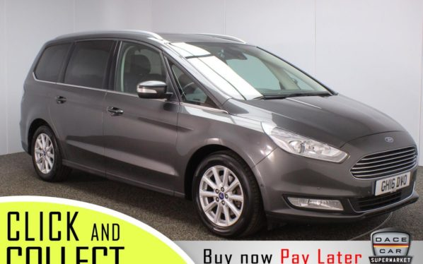 Used 2016 GREY FORD GALAXY MPV 2.0 TITANIUM X TDCI 5DR 1 OWNER AUTO 148 BHP (reg. 2016-08-30) for sale in Stockport