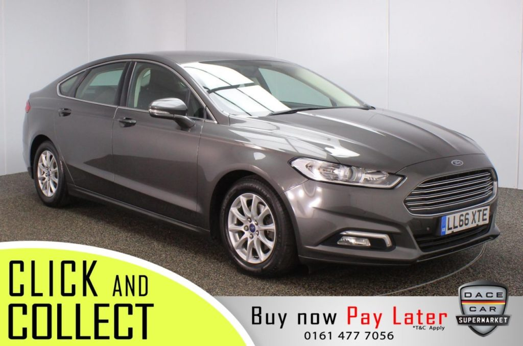 Used 2016 GREY FORD MONDEO Hatchback 1.5 ZETEC ECONETIC TDCI 5DR 1 OWNER 114 BHP (reg. 2016-12-02) for sale in Stockport