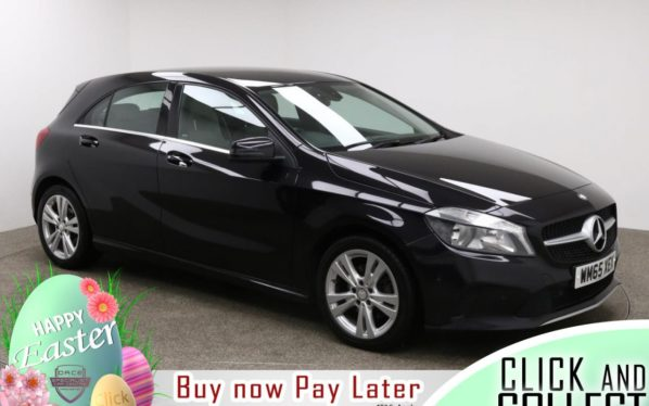 Used 2016 PURPLE MERCEDES-BENZ A-CLASS Hatchback 2.1 A 200 D SPORT EXECUTIVE 5d AUTO 134 BHP (reg. 2016-02-11) for sale in Manchester