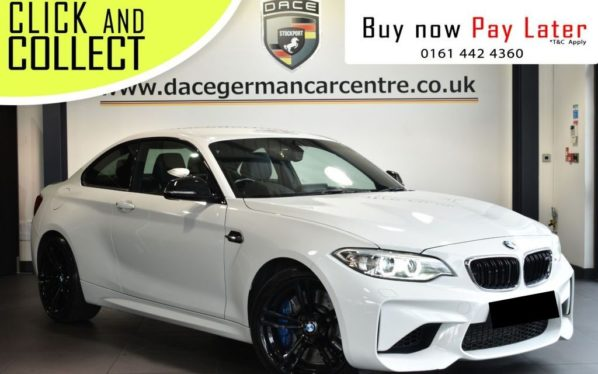 Used 2016 WHITE BMW M2 Coupe 3.0 2DR AUTO 365 BHP (reg. 2016-04-21) for sale in Bolton