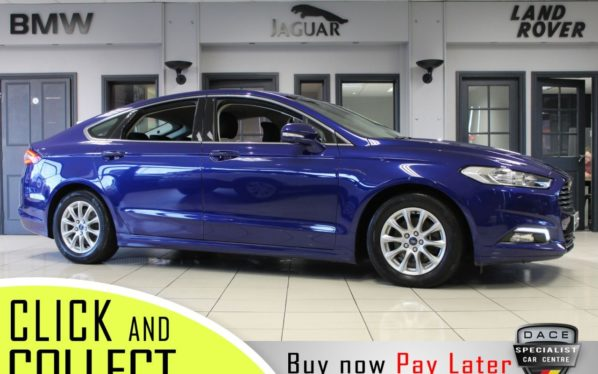 Used 2017 BLUE FORD MONDEO Hatchback 2.0 TITANIUM ECONETIC TDCI 5d 148 BHP (reg. 2017-01-27) for sale in Hazel Grove