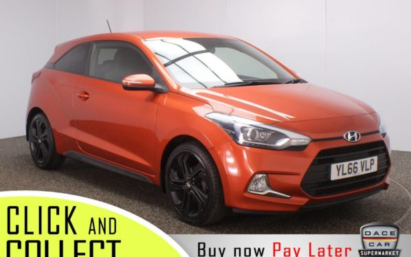 Used 2017 ORANGE HYUNDAI I20 Coupe 1.2 MPI SPORT 3DR 1 OWNER 83 BHP (reg. 2017-01-12) for sale in Stockport
