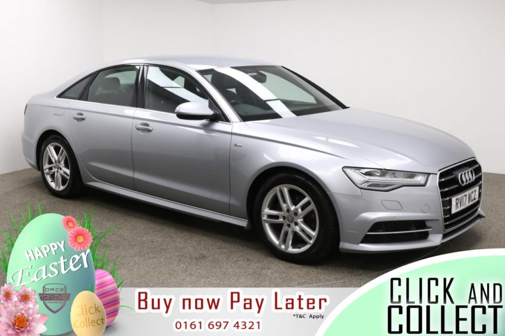 Used 2017 SILVER AUDI A6 Saloon 2.0 TDI ULTRA S LINE 4d AUTO 188 BHP (reg. 2017-04-24) for sale in Manchester