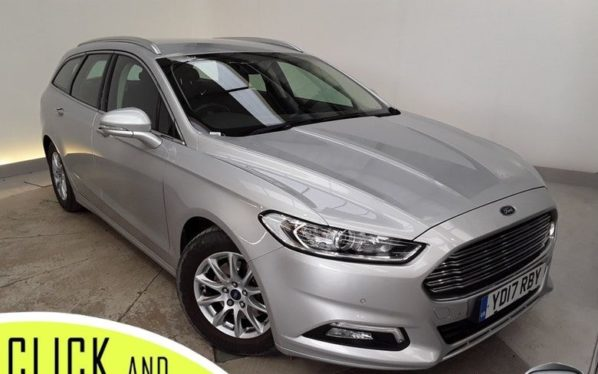Used 2017 SILVER FORD MONDEO Estate 1.5 ZETEC ECONETIC TDCI 5DR 1 OWNER 114 BHP (reg. 2017-03-16) for sale in Stockport